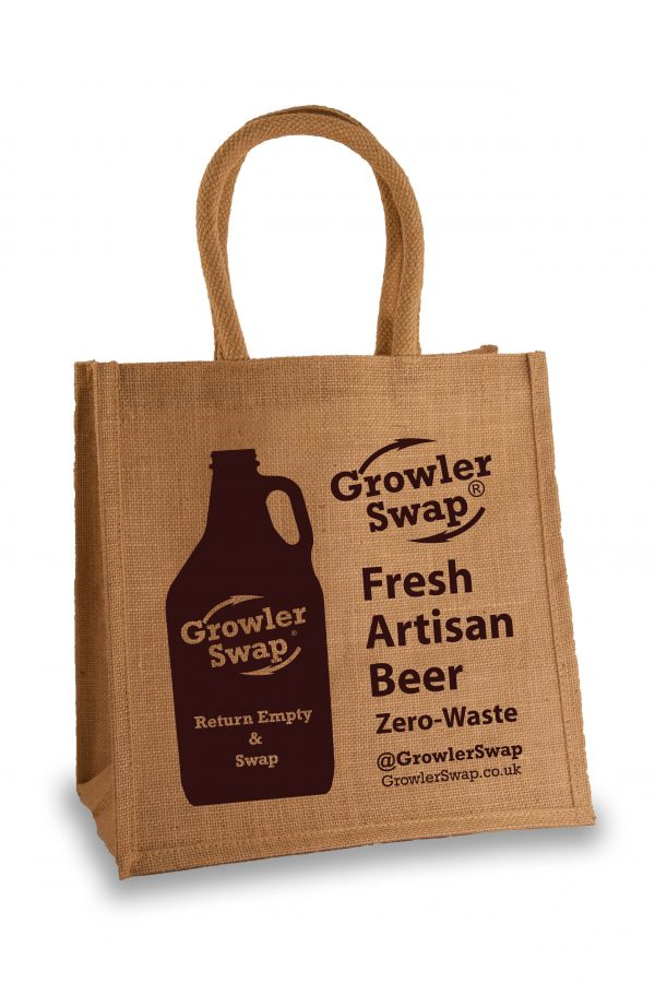 Reusable Tote | Growler Swap Milton Keynes